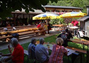 Biergarten In Franken